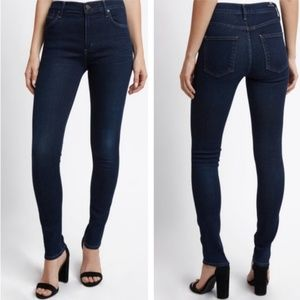 Citizens of Humanity Rocket High rise skinny navy
